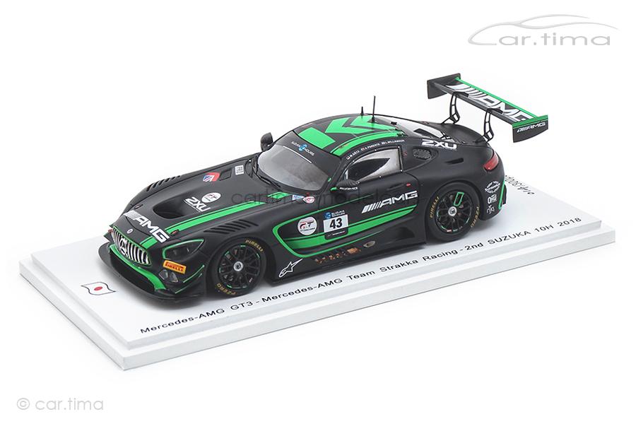 Mercedes-AMG GT3 10h Suzuka 2018 Götz/Parente/Williamson Spark 1:43 SJ060