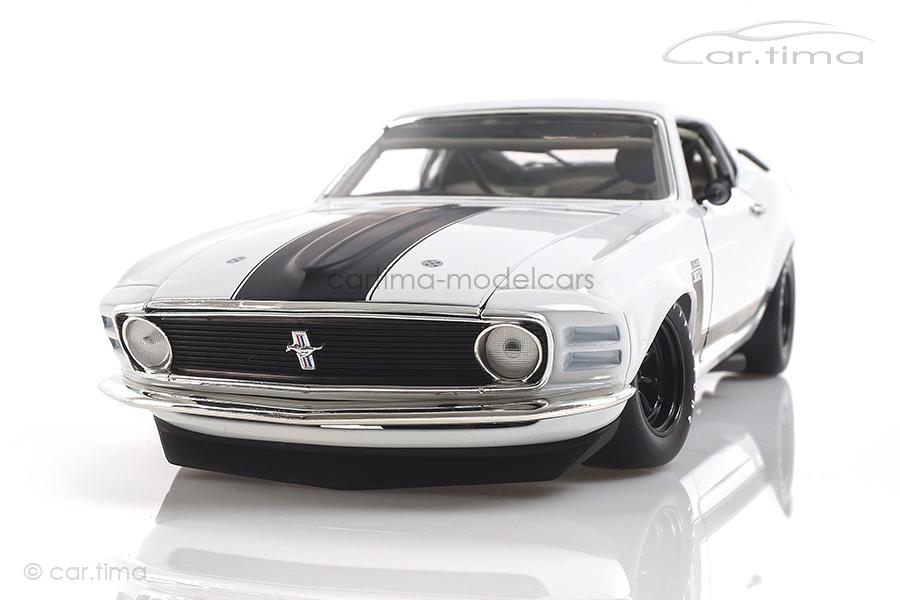 Ford Boss 302 Trans Am Mustang Plain Body ACME 1:18 A1801835W
