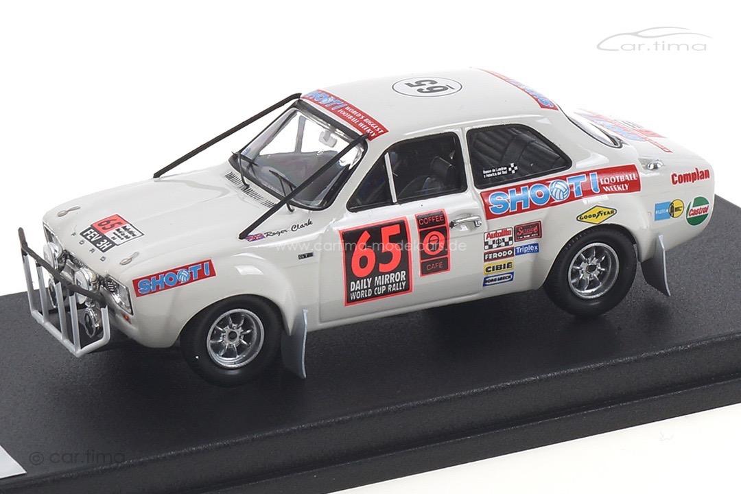 Ford Escort MK1 London-Mexiko World Cup Rally 1970 Clark/Poole Trofeu 1:43 RRMRS04