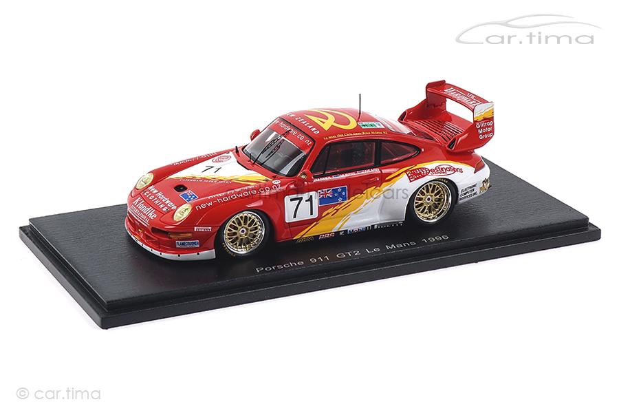 Porsche 911 GT2 24h Le Mans 1996 Farmer/Murphy/Nearn Spark 1:43 S5529