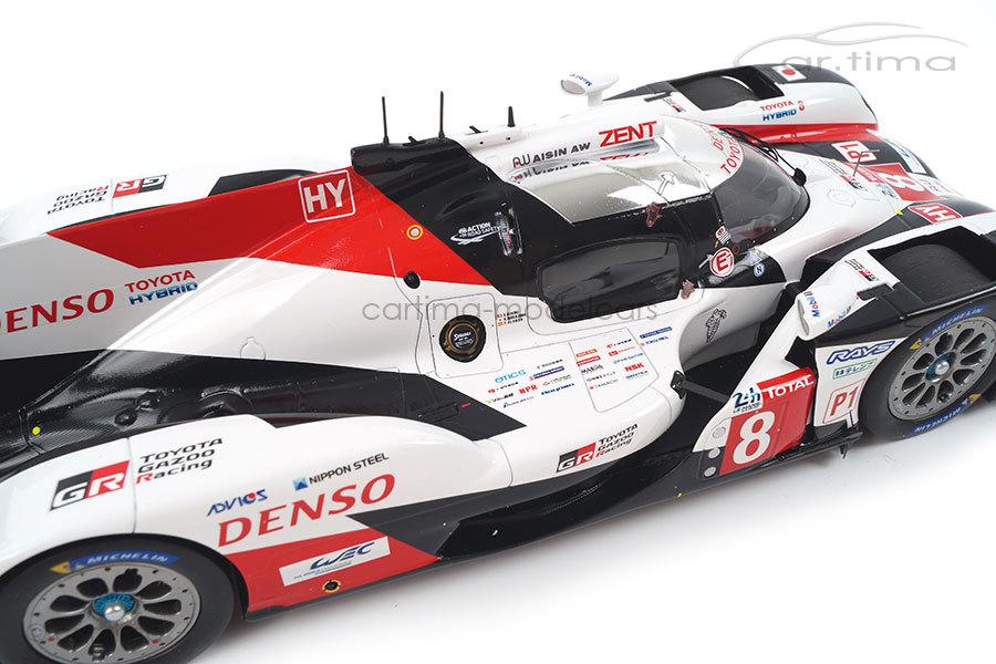 Toyota TS050 Hybrid Winner 24h Le Mans 2019 Alonso/Buemi/Nakajima Spark 1:18 18LM19