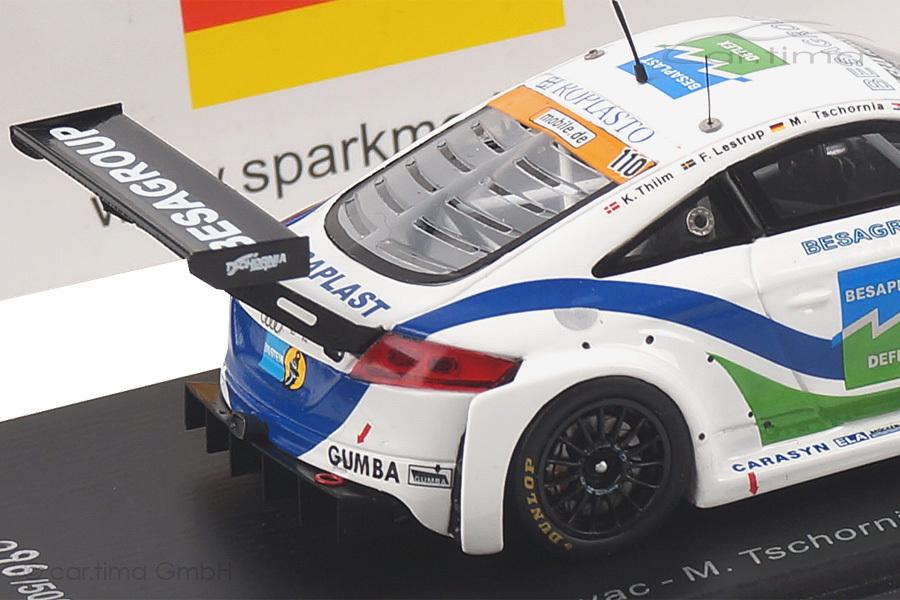 Audi TT RS 24h Nürburgring 2014 Kovac/Lestrup/Thiim Spark 1:43 SG142