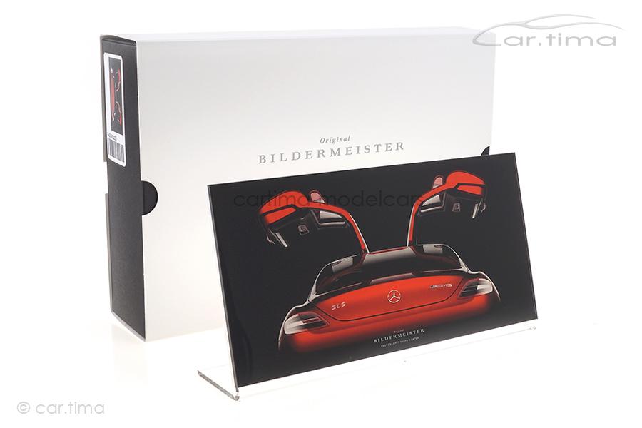 Bildermeister MINIpic Mercedes-Benz SLS AMG 2010 Acrylglas-Aufsteller 10 cm x 20 cm RR21003225