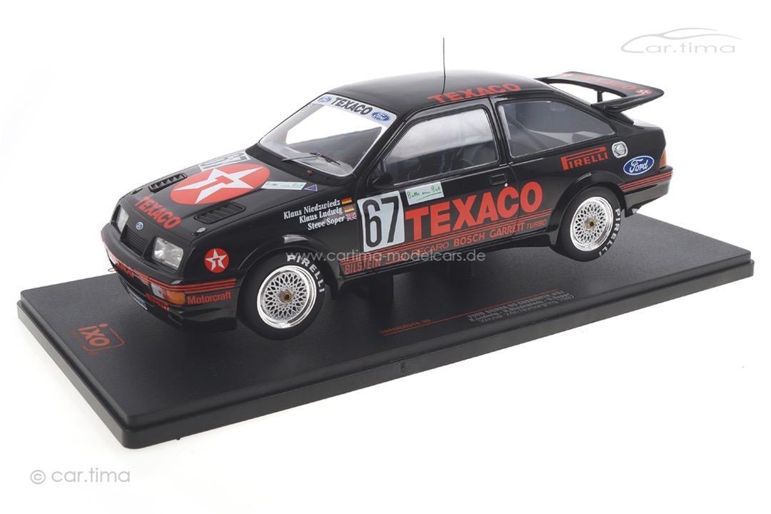 Ford Sierra RS Cosworth 24h Nürburgring 1987 Ludwig/Niedzwiedz/Soper IXO 1:18 18RMC051A