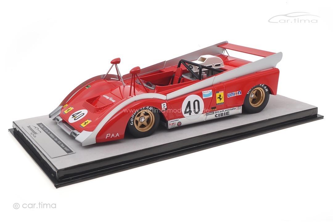 Ferrari 712 Can-Am Watkins Glen 1972 Jean-Pierre Jarier Tecnomodel 1:18 TM18-225C