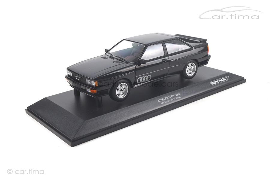 Audi Quattro 1980 schwarz Minichamps 1:18 155016121