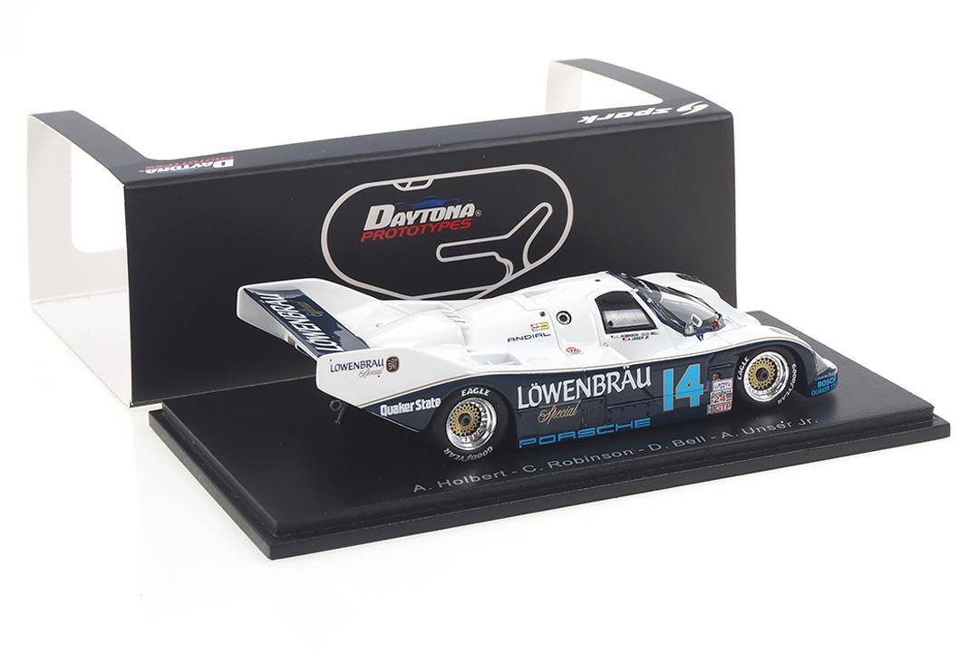 Porsche 962 Winner 24h Daytona 1987 Bell/Holbert/Robinson/Unser Jr. Spark 1:43 43DA87