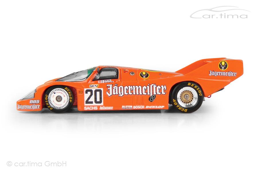 Porsche 956 Sportwagen WM 1000 km Hockenheim 1985 Berger/Brun Spark 1:43 CAP04311023
