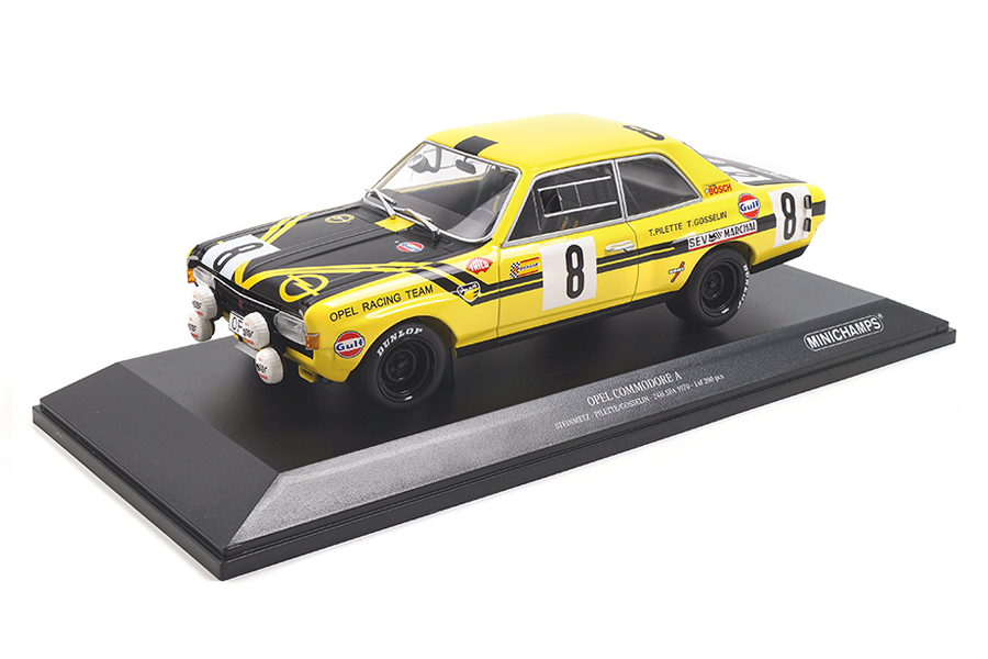 Opel Commodore 24h Spa 1970 Pilette/Gosselin Minichamps 1:18 155704608