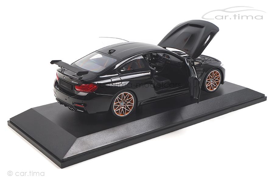 BMW M4 GTS 2016 schwarz met. Minichamps 1:18 110025220
