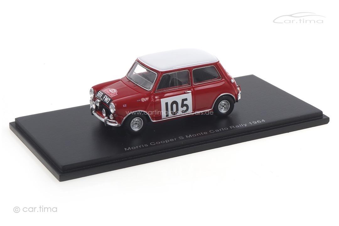 Morris Cooper S Rallye Monte Carlo 1964 Aaltonen/Ambrose Spark 1:43 S1192