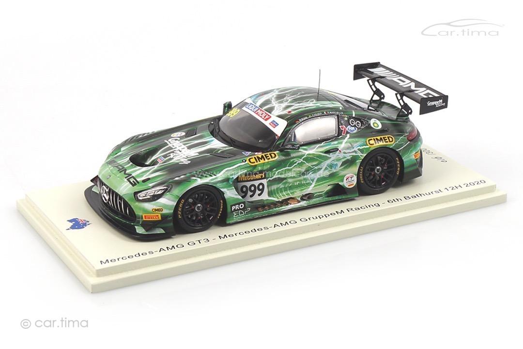 Mercedes-AMG GT3 12h Bathurst 2020 Buhk/Fraga/Marciello Spark 1:43 AS053