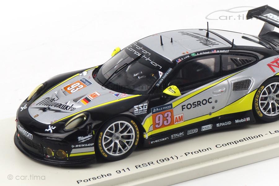 Porsche 911 (991) RSR 24h Le Mans 2017 Long/Al Faisal/Hedlund Spark 1:43 S5842